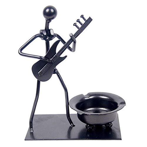 Cenicero De Puros, Cenicero Cenicero guitarra eléctrica del arte del hierro accesorios...