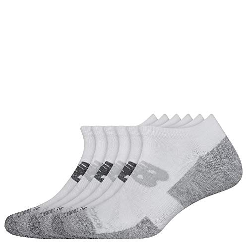 Unisex, New Balance, Cooling Cushion Performance Lowcut Socks - 6 Pack...