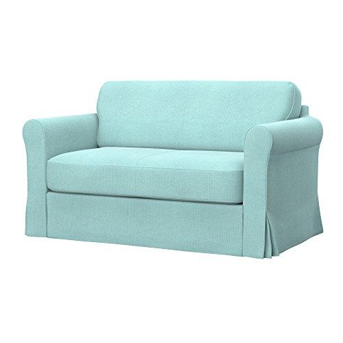 Soferia - IKEA HAGALUND Funda para sofá Cama, Glam Mint