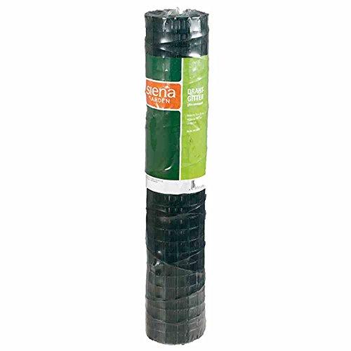 Siena Garden Drahtgitter, 1000 mm x 5 m, 1,10 mm stark, PVC, 1 Stück, grün, 371314