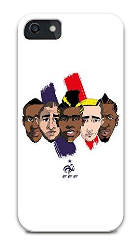FFF beschermhoes voor iPhone 5/5S team, officiële collectie van het Franse voetbalelftal