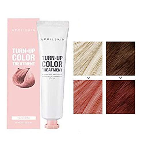 [de abril de piel] turn-up color tratamiento 60ml/Self pelo lejía (melocotón rosa)