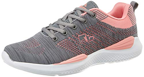 Lumberjack WALKY, Sneaker Donna, Grigio (Dk Grey/Pink M0995), 36 EU