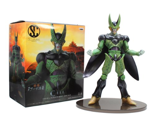 Banpresto Dragon Ball Z 9.5-Inch Cell Figure, SCulture Big Budoukai Volume 4