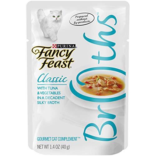 Purina Fancy Feast Broths Wet Cat Food Complement