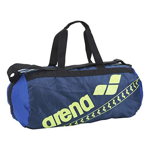 arena(アリーナ) 水泳 スイミングバッグ ポケッタブルデリバリーバッグ AEAPJA06 NVY(ネイビー×ブルー×イエロー) F