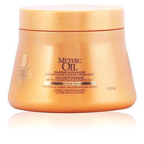 L'oreal Mythic oil light mask normal to fine hair 200 ml 1 Unidad 200 g