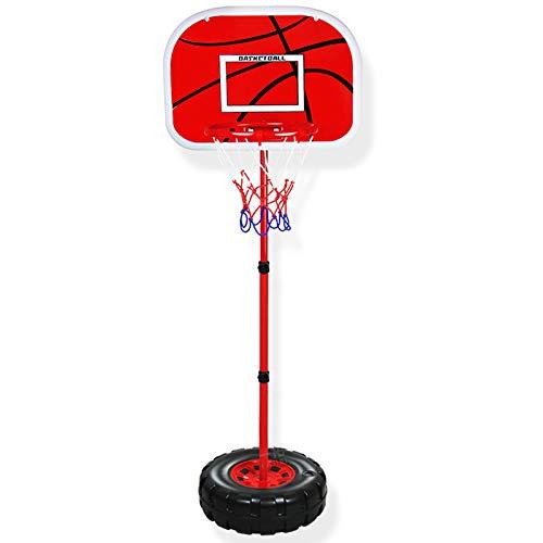 ZZLYY Canasta Baloncesto Infantil, 9-12in Canastas Baloncesto 150-240cm Soporte Ajustable, Juguete De Baloncesto para Niños Mayores De 3 Años,150cm