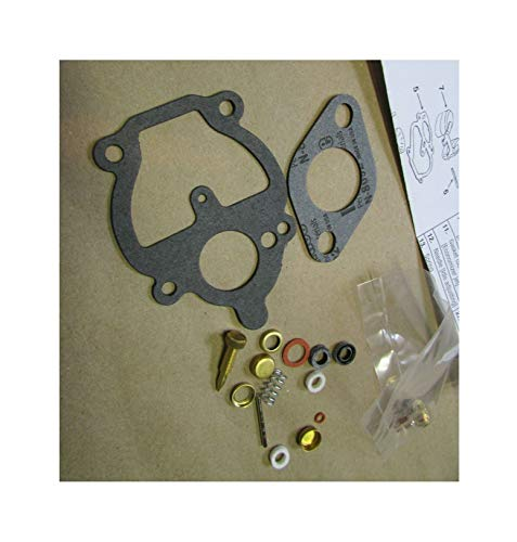 (New Kit) Carburetor Repair Kit Zenith Compatible with Farmall B C A BN Super A 130 100 200 230 240 + Free Useful Ebook
