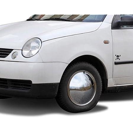 Universell Passende Radzierblende 1 Stück 14 Zoll Moon Caps Für Pkw Oldtimer Aus Verchromten Metall Auto