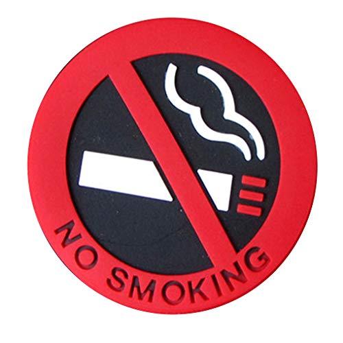 Fornateu Selbstklebende Nichtraucher Zigarette Logo-Auto-Aufkleber-Station Fahrzeug Warnzeichen PVC Aufkleber