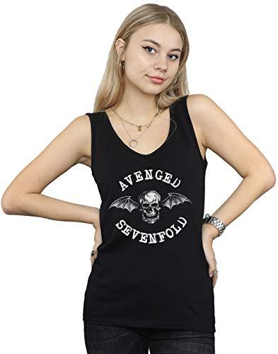Avenged Sevenfold Mujer Bat Camiseta Sin Mangas Negro Large