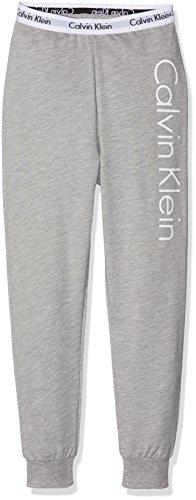 Calvin Klein Jungen MODERN Cotton (LG) Track Pant Sporthose, Grau (Gray Heather 016), 110 (Herstellergröße: 4-5)