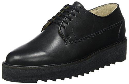 Marc O'Polo Damen Lace Up Shoe 70814243401125 Oxfords, Schwarz (Black), 38.5 EU
