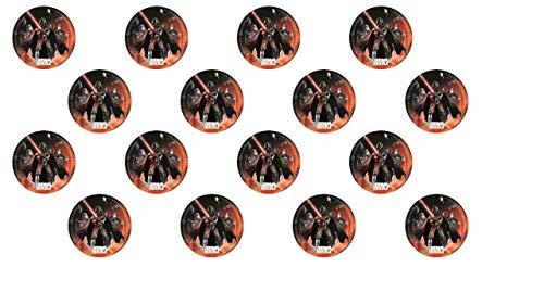 3044; 2 paquetes de 8 platos de cartón 23cm DISNEY STAR WARS LIGHTSABER; ideal para fiestas y cumpleaños