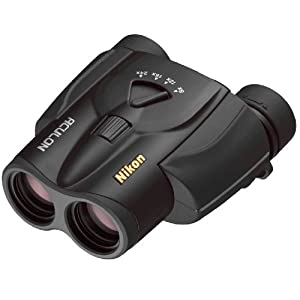 Nikon Aculon T118-24x25Zoom Binoculars 8to 24x 25mm Front Lens Diameter