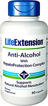 Life Extension Anti-Alcohol with HepatoProtection Complex 60 Capsules