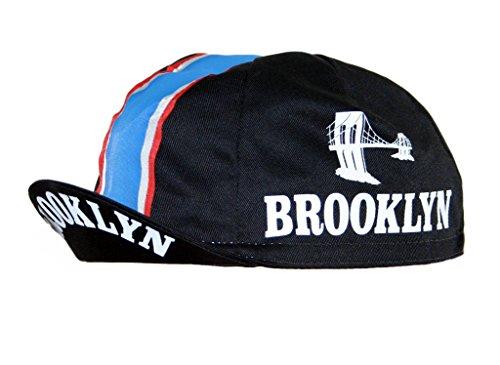 Brooklyn Cap Radmütze Radlercap (schwarz)