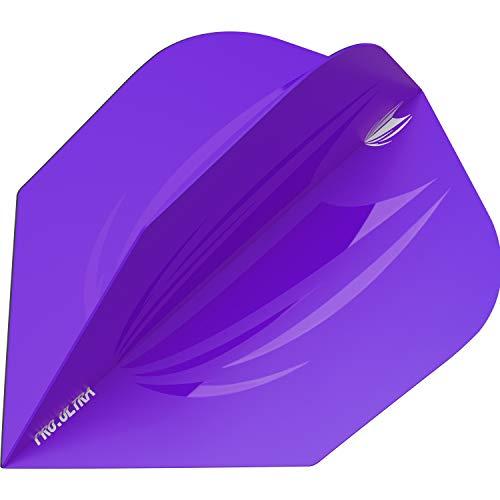 Target Darts - 5er Sets ID Pro. Ultra Lila Farbene No.6 Dart Flights - insgesamt 15 Stück, 335332