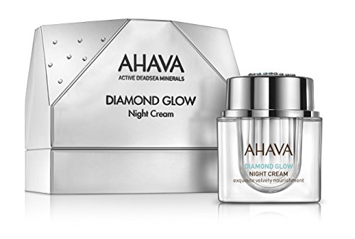 AHAVA Diamond Glow Night Cream, 1er Pack (1 x 50 g)