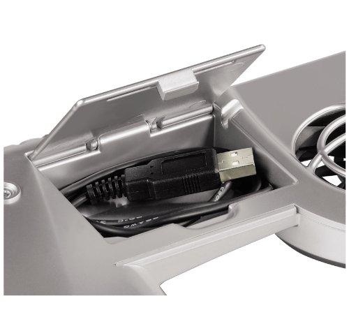 Hama Notebook-Kühler, Silber
