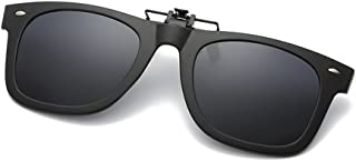 miopía gafas de sol polarizadas gafas de visión nocturna clip-en la lente conveniente