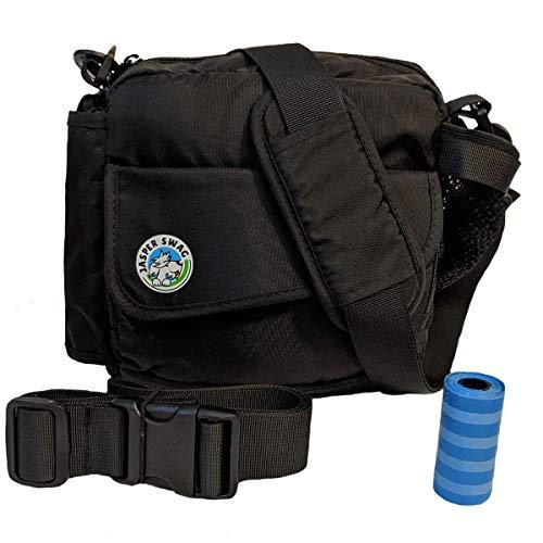 Jasper Swag Premium Dog Walking Bag, Fanny Pack Waterproof Purse with Water Bottle Holder | Dog...