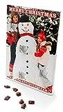 Calendario de Adviento de chocolate personalizado – cualquier foto y mensaje de Navidad – Personalizado a pedido y único!