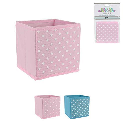 Boîte de rangement pliable Nuages Ustensiles Boîte de rangement pour salle de bain, chambre d'enfant, table à langer, cube de rangement
