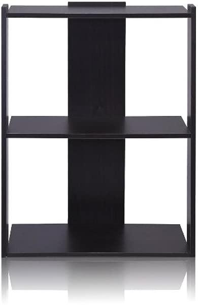 Furinno 11083EX Hidup Tropika Medium Ladder Shelf Espresso