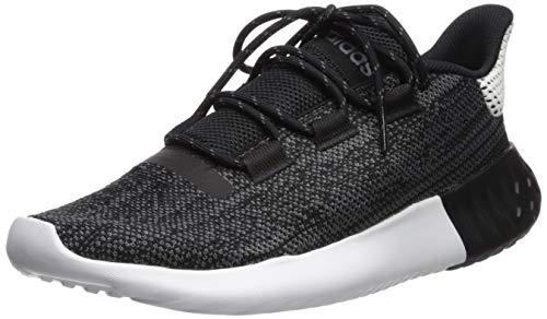 adidas Originals Men's Tubular Dusk Running Shoe, White/Black/Grey, 10 M US