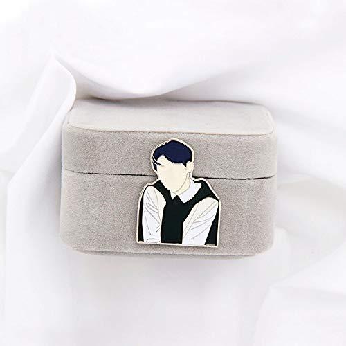 1 Uds Kpop Bangtan Boys Badge Album JIMIN Pin broche accesorios joyería para ropa mochila decoración colección de ventiladores
