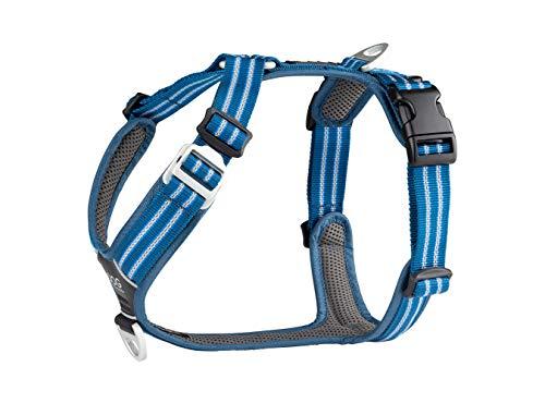 Dog Copenhagen Harnais Confort Walk Air pour Chien Bleu Taille L