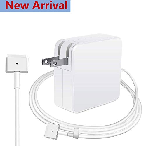 New 60Watt Magnetic TTip AC Power Adapter Charger Compatible with Macbooks Air MacBook and MacBook Pro Late 2012