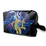 Makeup Bag Cosmetic Pouch Dig-Imon Crest Of Friendship Multi-Functional Bag Travel Kit Storage Bag