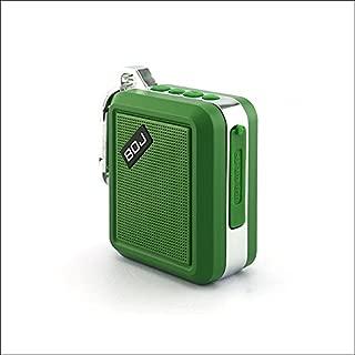 Green Key Chain Mini Bluetooth Speaker. (Waterproof)