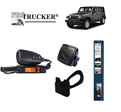 Pro Trucker JK Jeep CB Radio Kit