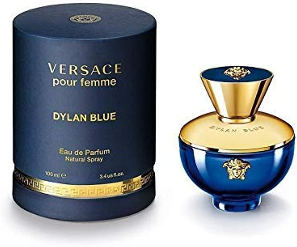 Versace ,dylan blue,eau de parfum da donna , 100 ml 130693