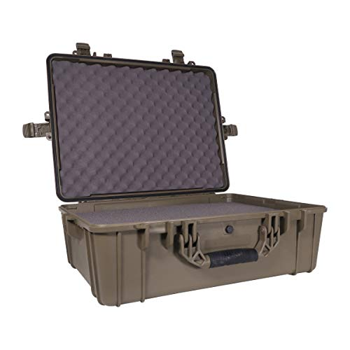 Condition 1 25quot XL Waterproof Protective Hard Case with Foam Green  25quot x 20quot x 10quot #839 IP67 Watertight Dust Proof and Shock Proof TSA Approved Portable Trunk Carrier