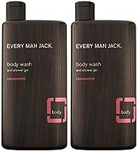 Every Man Jack Body Wash, Cedarwood, 16.9-ounce (Twin Pack)