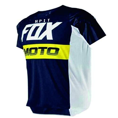 PYMNDZ de los Hombres de Abajo Camisetas hpit Fox Bicicleta de Monta?a MTB Camisas Offroad DH Jersey Motocross Ropa Deportiva Ropa-XXXL