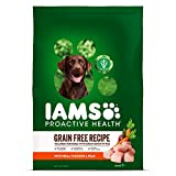 IAMS PROACTIVE HEALTH Adult Dry Dog Food Grain Free Recipe with Real...