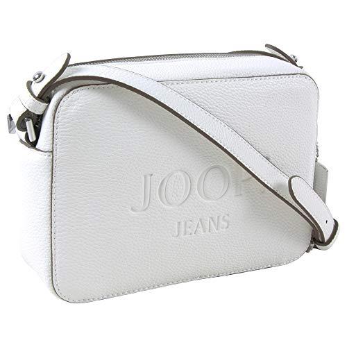 Joop! Damen Jeans lettera cloe Schultertasche shz Farbe white