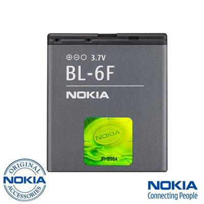NOKIA BL-6F ORIGINAL N95 8GB N78 N79 1200mAh