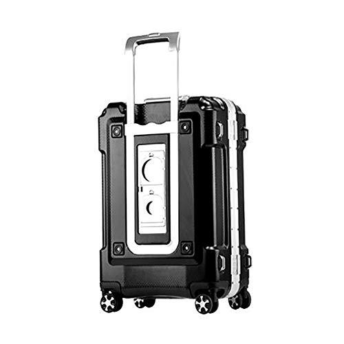 NZNDONE Valigia Trolley Porta valigie Telaio in Alluminio Valigia Trolley Porta Ruote Universale