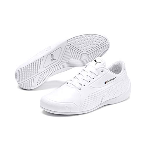 PUMA BMW M Motorsport Drift Cat 7S Ultra Youth Sneaker Puma White-Puma White UK 3_Youth_FR 35.5
