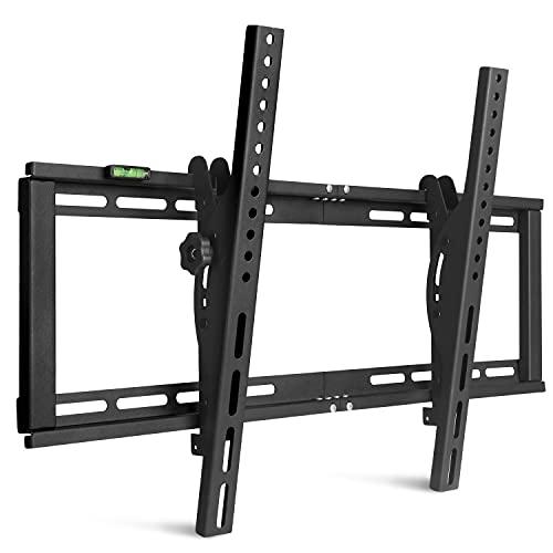 Supporto TV da parete inclinabile ± 15° VESA max 600 x 400 mm Supporto da parete per LED/LCD/Plasma/Curvata TV da 26'-75' carico massimo 60 kg