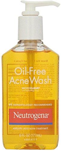 Neutrogena Oil-Free Acne Wash 6 oz (3 Pack)