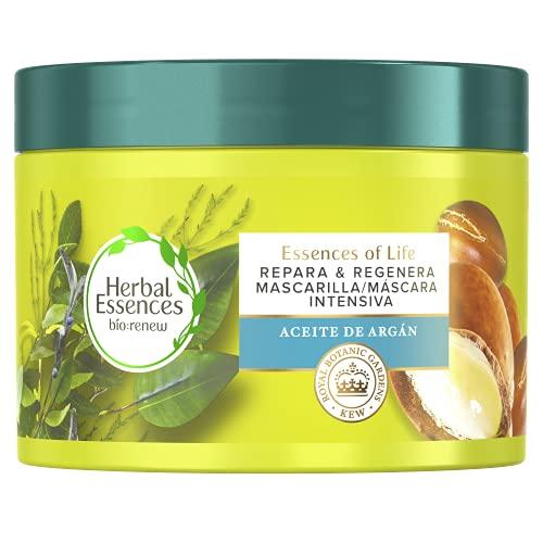 Herbal Essences Mascarilla Reparadora De Aceite De Argán Para Pelo Seco Y Dañado 450 ml