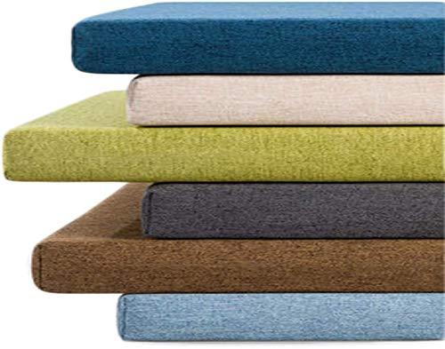 LRuilo 3 cm / 5 cm dickes, hochwertiges langes Bankkissen für den Innenbereich, rutschfestes Gartenbank-Sitzkissen, 2- oder 3-Sitzer, für Schaukel, Terrasse und Außenbereich